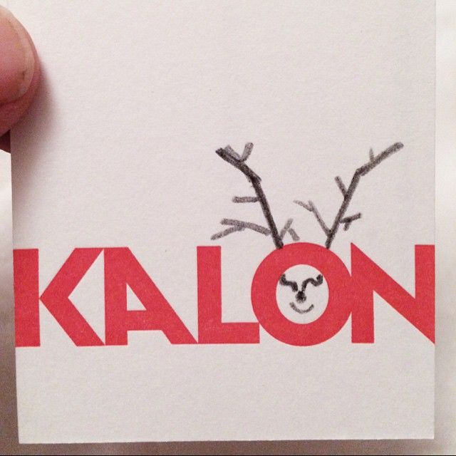 """""""Our daughter decided to upgrade our business cards. Happy holidays!!"""" Photo taken by @kalonstudios on Instagram (12/14/2014)"""
