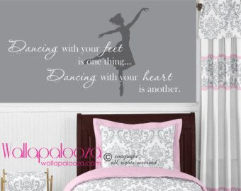 Marvelous Dance Wall Decal   Dancing Wall Decal   Dancing With Your Feet   Girls  Bedroom Wall
