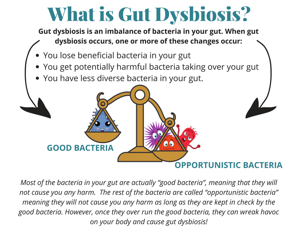 Dysbiosis healing time. Dysbiosis natural cure