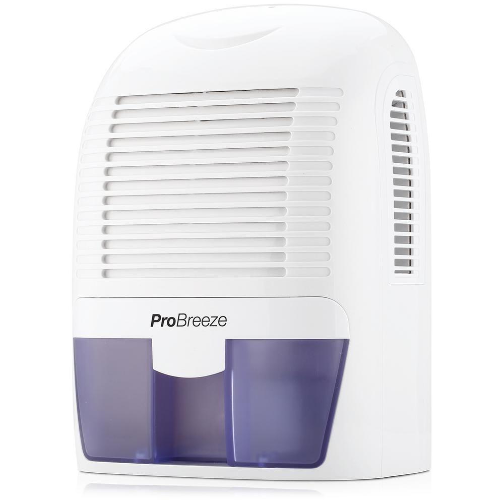 Pro Breeze 0 9 Pint Bucket Dehumidifier Whites In 2020 Dehumidifiers Storage Buckets Home Depot