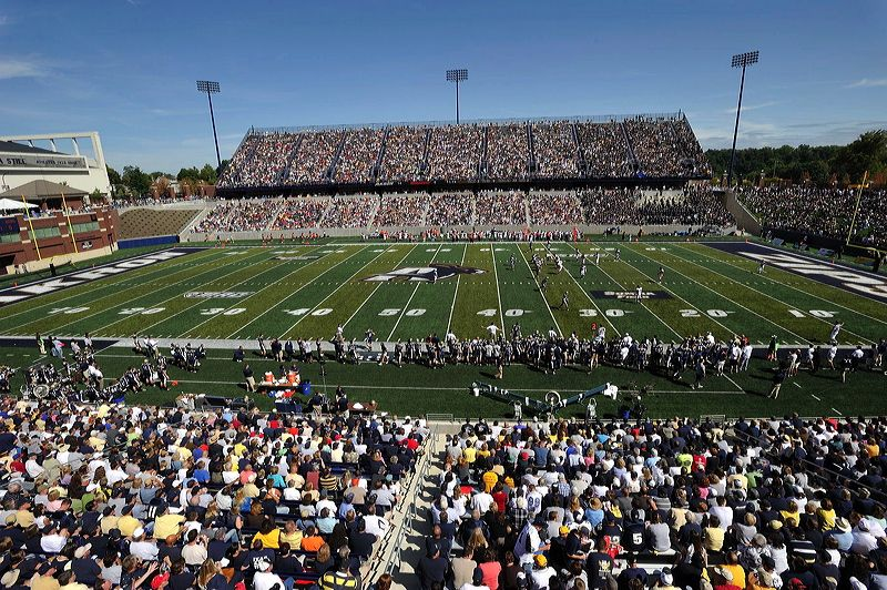 Ua Virtual Tour University Of Akron Virtual Tour Stadium