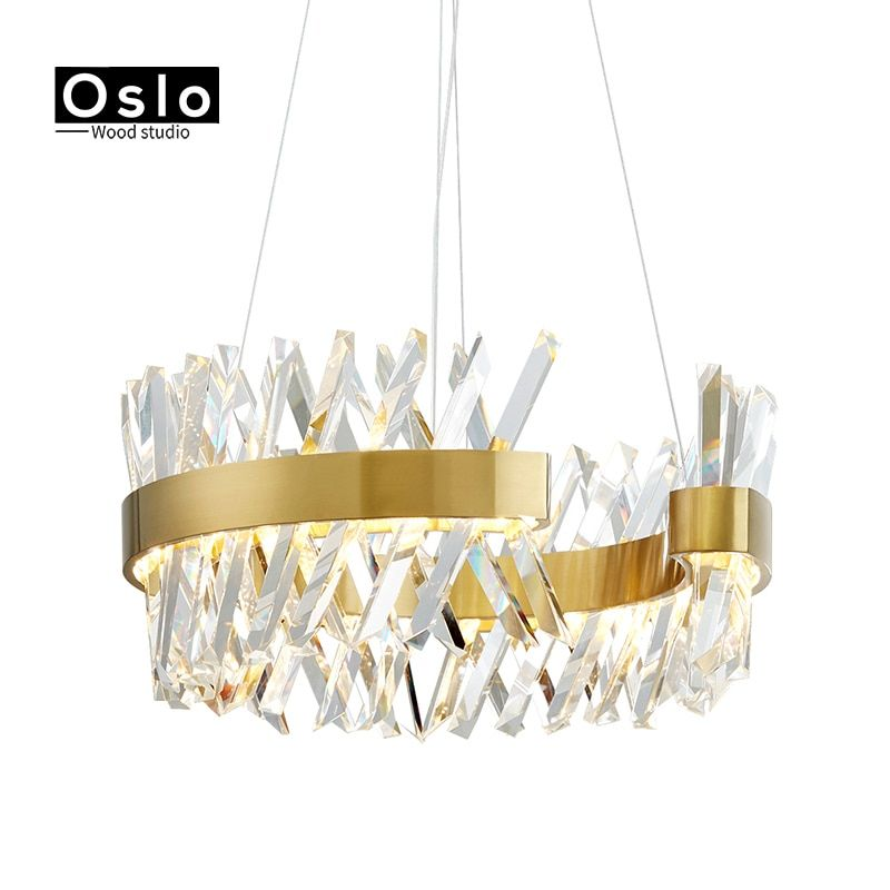 Luxury Modern Crystal Chandelier For Living Room Dining Room Hotel