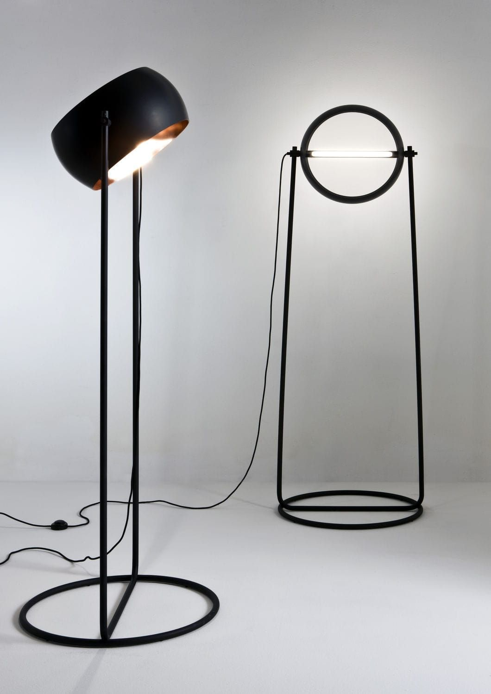 Floor Standing Lamp Original Design Iron Copper Globe By Edoardo Colzani Laurameroni Floor Lamp Decorative Floor Lamps Adjustable Floor Lamp