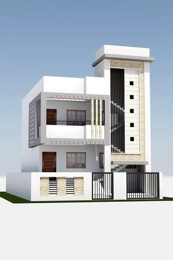 House saved by sriram modern plans floor dream also exterior design in front elevation designs rh pinterest