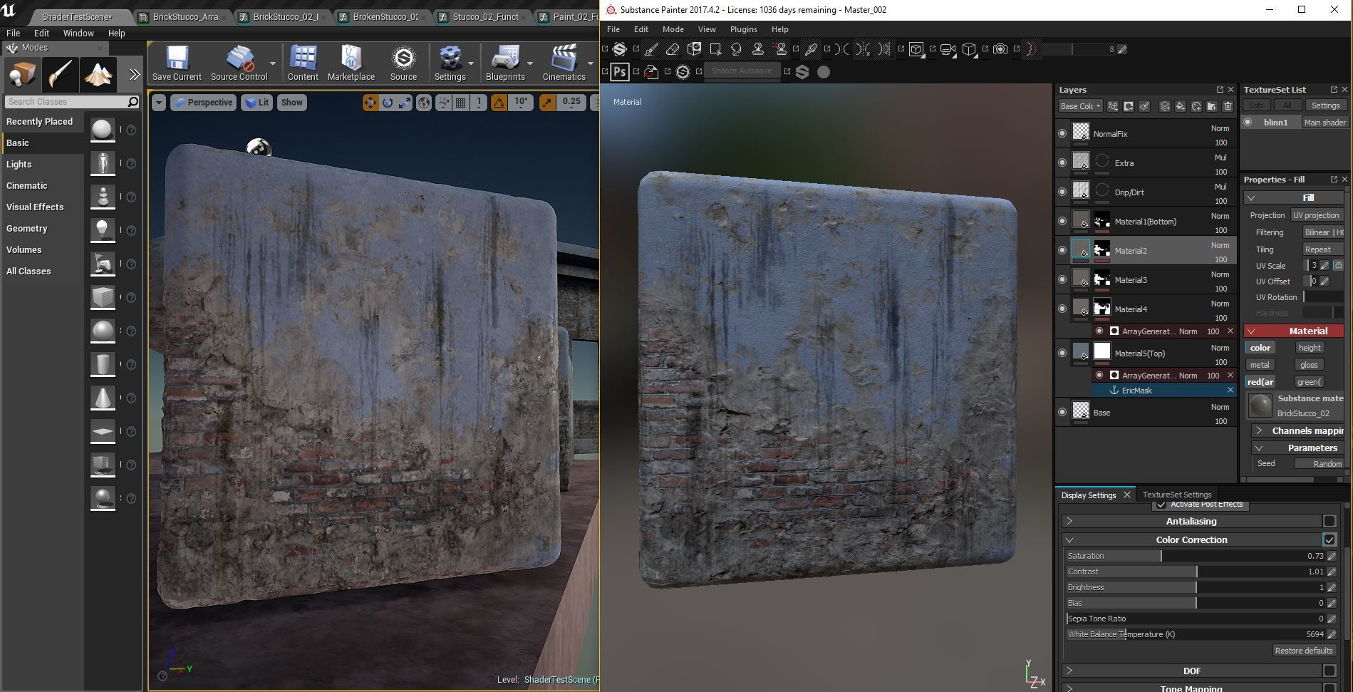 Artstation Ue4 Material Gradient Mask Array Eric Zimmer With
