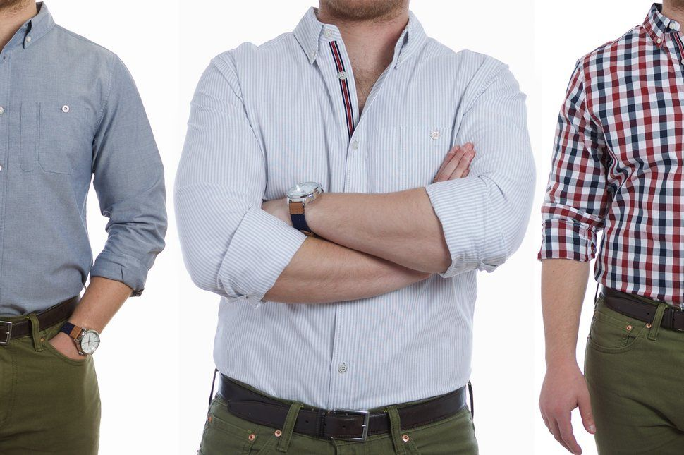 How to roll up sleeves on a dress shirt style