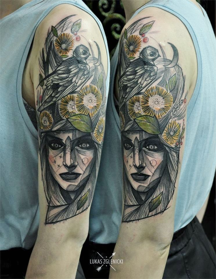 Slavic tattoos by polish artists slavic tattoo sketch