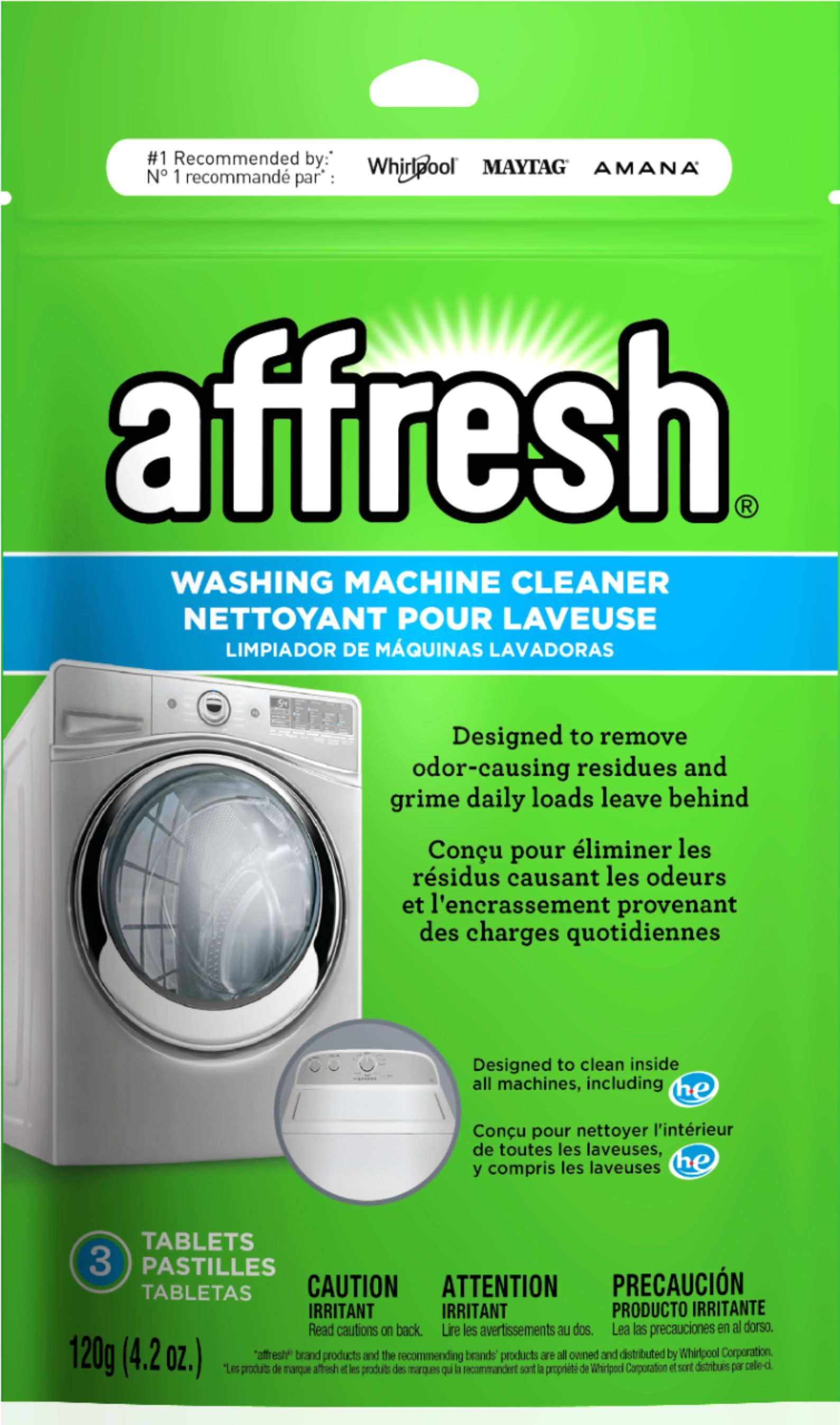 how to use washing machine cleaning tablets