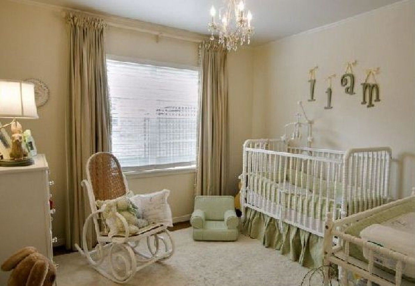 Baby Rooms This Nursery Covers All The Basics A Crib Chest For