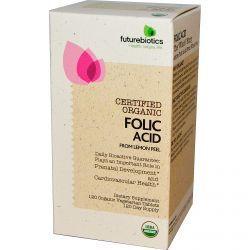 Futurebiotics, Folic Acid From Lemon Peel, 120 Organic Veggie Tabs, Diet Suplements -ST