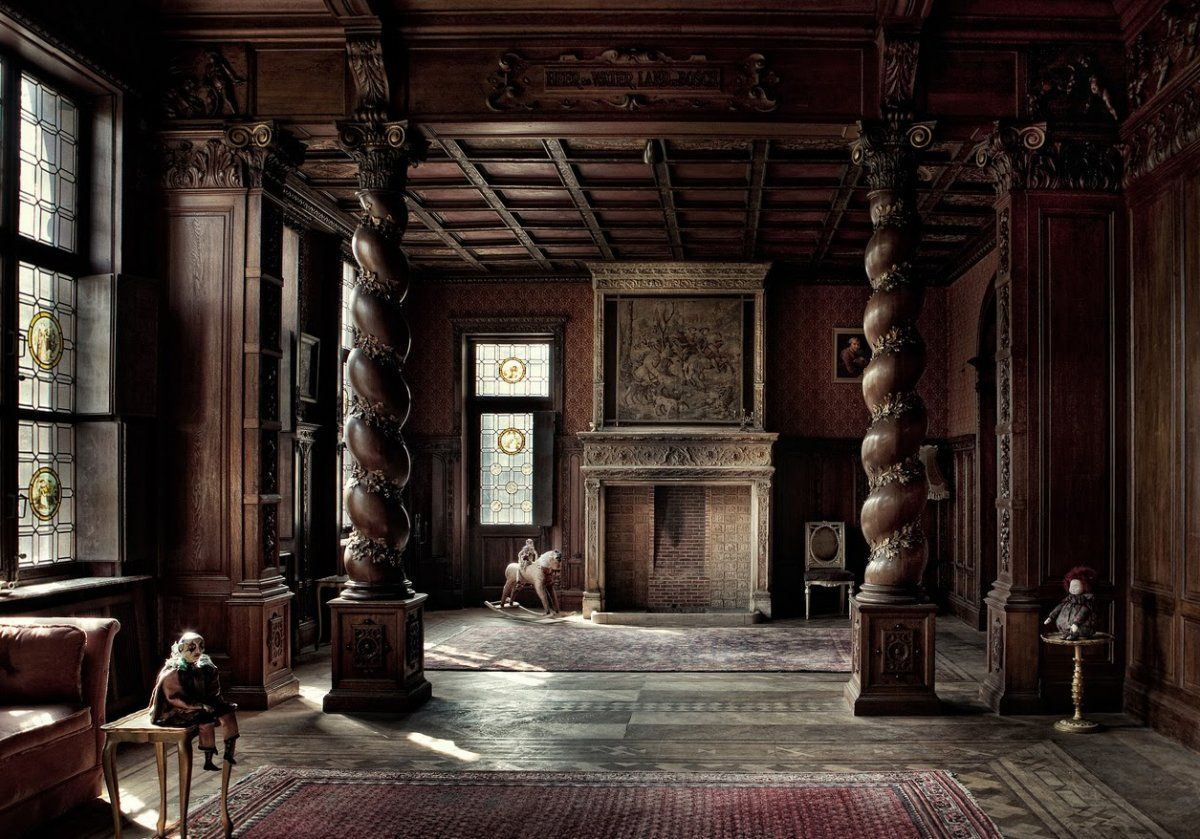 How to Decorate Gothic Style Bedroom : Enchanting Image Of Gothic Style Bedroom Design And Decoration Using Solid Walnut Wood Interior Wall Panels Including ... & How to Decorate Gothic Style Bedroom : Enchanting Image Of Gothic ...