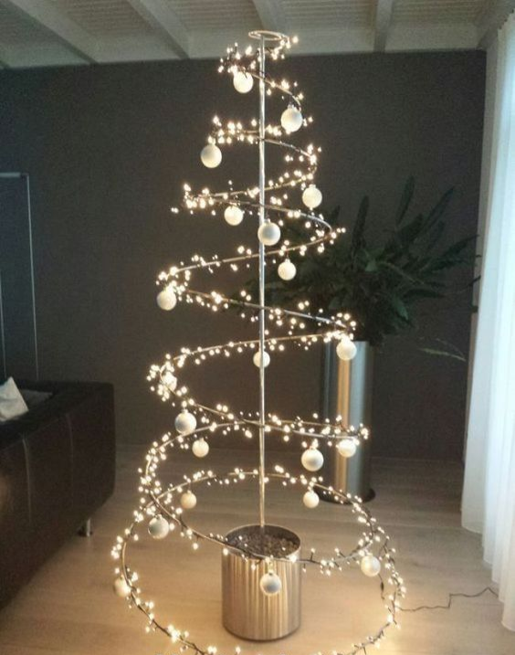 40 Unusual Cool Christmas Tree Alternatives 2019 Alternative Christmas Tree Creative Christmas Trees Diy Christmas Tree