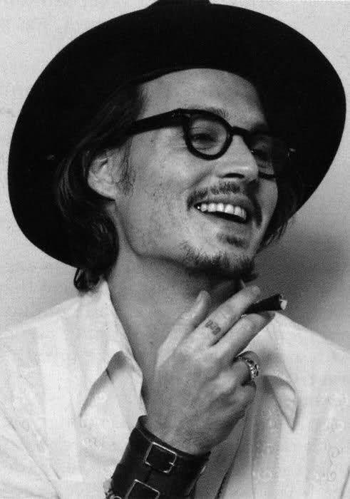 Hot Black And White Guy Johnny Depp