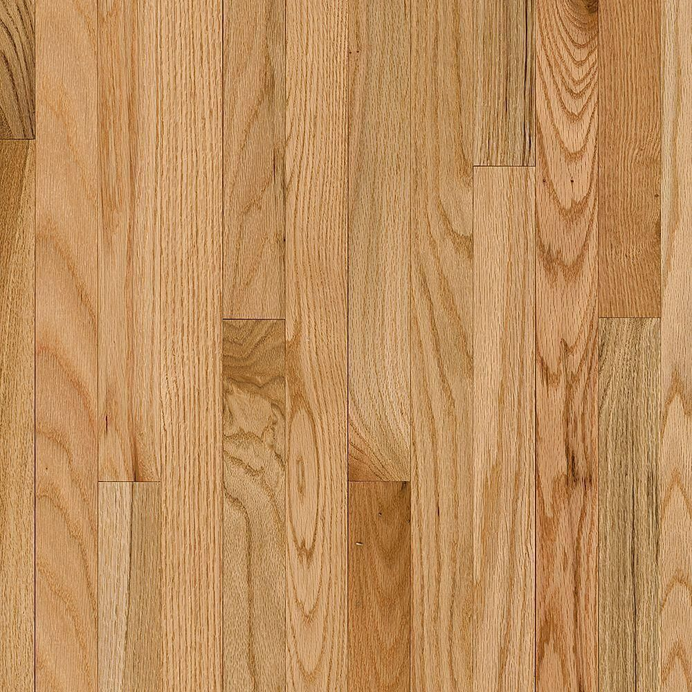Bruce Plano Oak Country Natural 3 4 In Thick X 3 1 4 In Wide X Varying Length Solid Hardwood Flooring 2 Solid Hardwood Floors Hardwood Floors Solid Hardwood