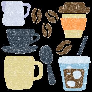 コーヒーイラストフリー素材 カフェイラスト フリー素材 イラスト