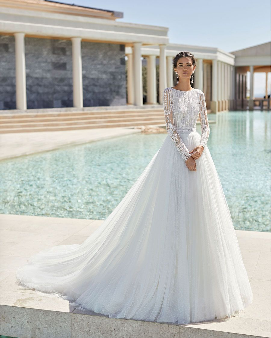 Rosa Clará Wedding Dresses from the Stunning 2020 Couture Collection – MODwedding – Wedding Dresses
