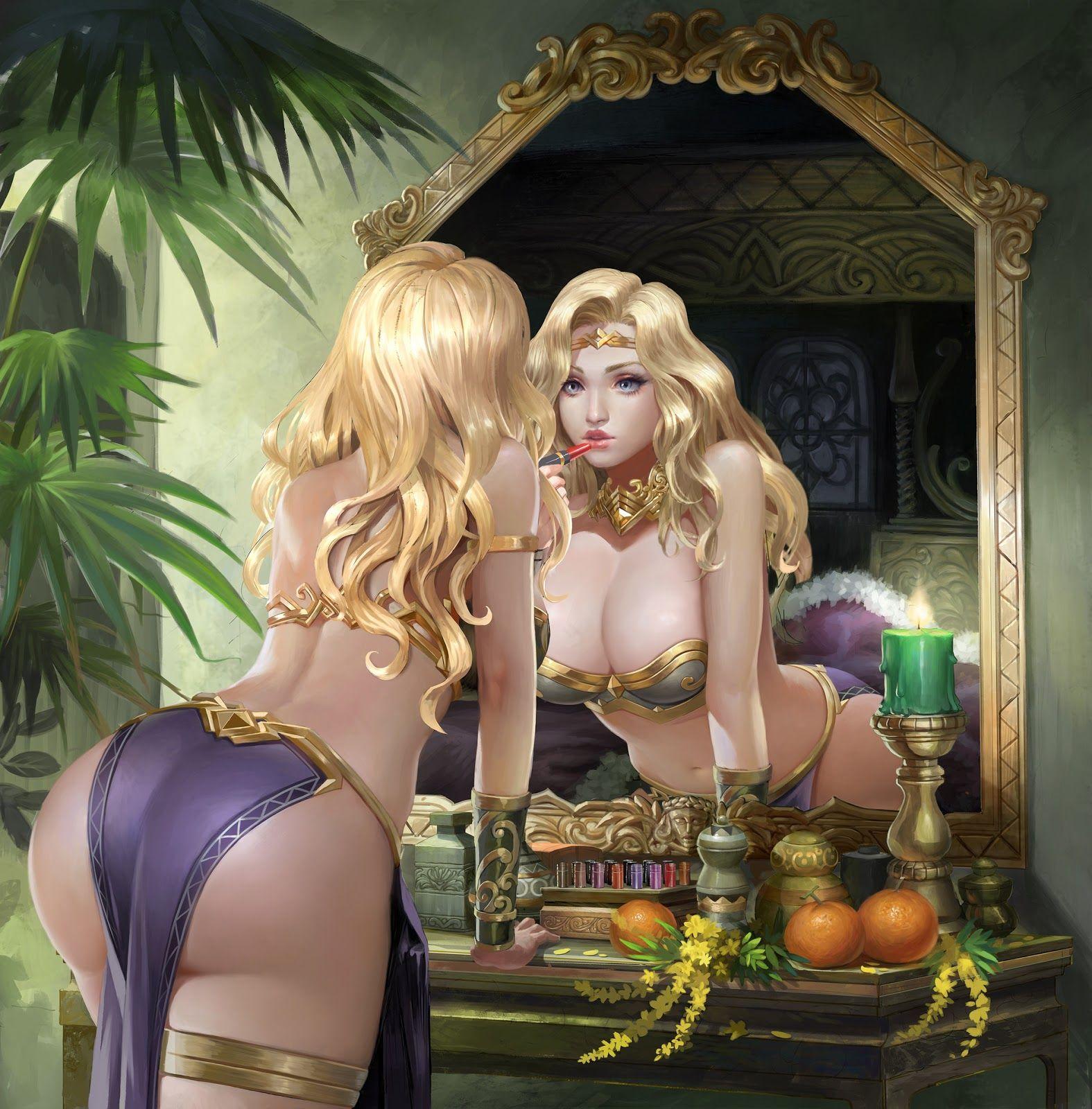 French maid fantasy