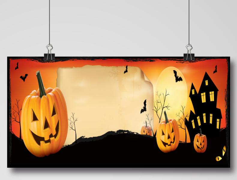 Happy Halloween Banner Design Happy Halloween Banner Halloween Banner Happy Halloween