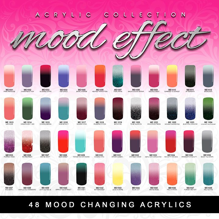 Details about glam and glits mood effect changing color - Colors effect on mood ...