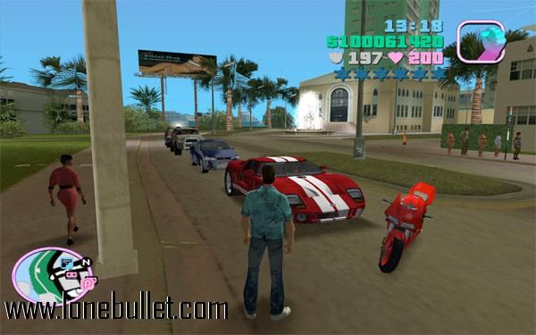 Hello Grand Theft Auto Vice City Lover Download The Banana Car Mod For Free At Lonebullet Http Www Lonebullet C Grand Theft Auto City Games Download Games