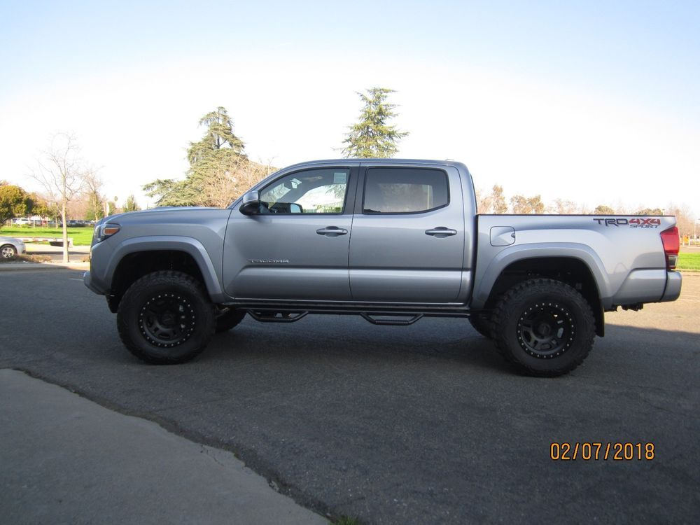 2017 TOYOTA TRD OFF ROAD 4X4 SPORT LIFTED ONLY 350