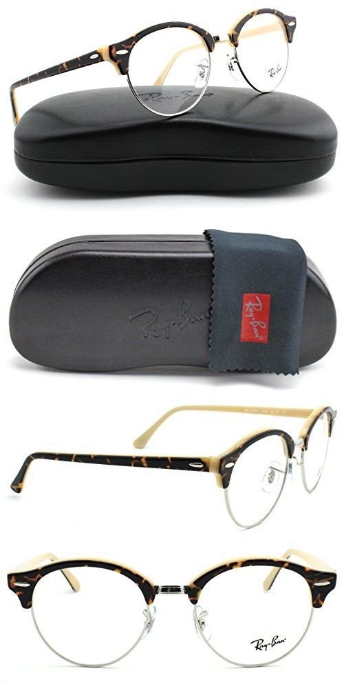 034f318c99 Ray-Ban RX4246V ClubRound Unisex Eyeglasses (Havana Opal Peach Frame 5239