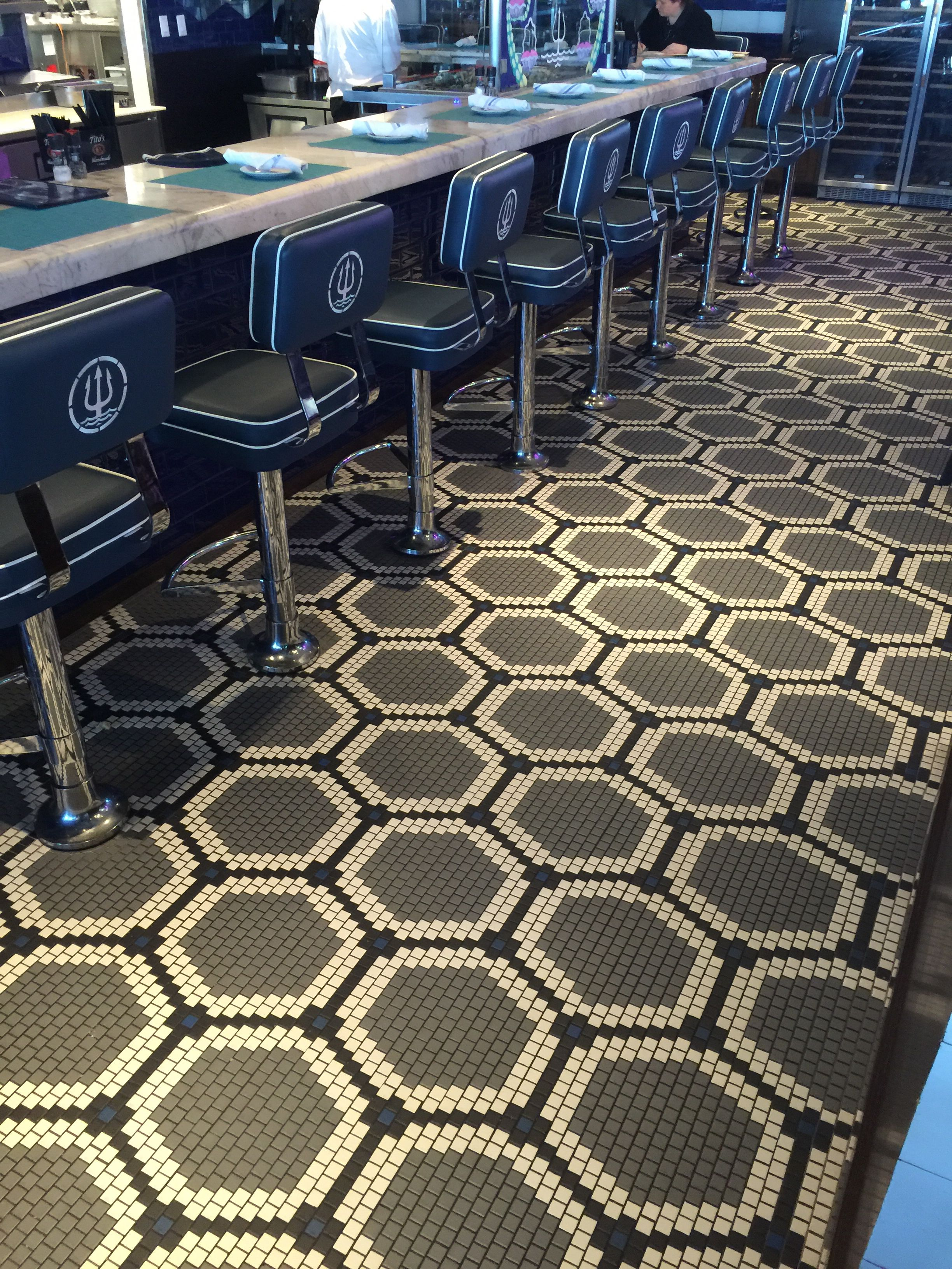 Daltile Keystone 1 Quot X1 Quot Custom Pattern Mosaic Floored