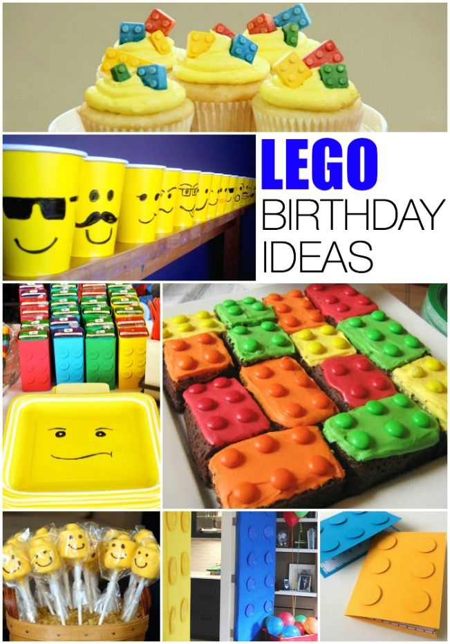 Lego Birthday Party Ideas | Lego birthday party, Awesome lego and ...