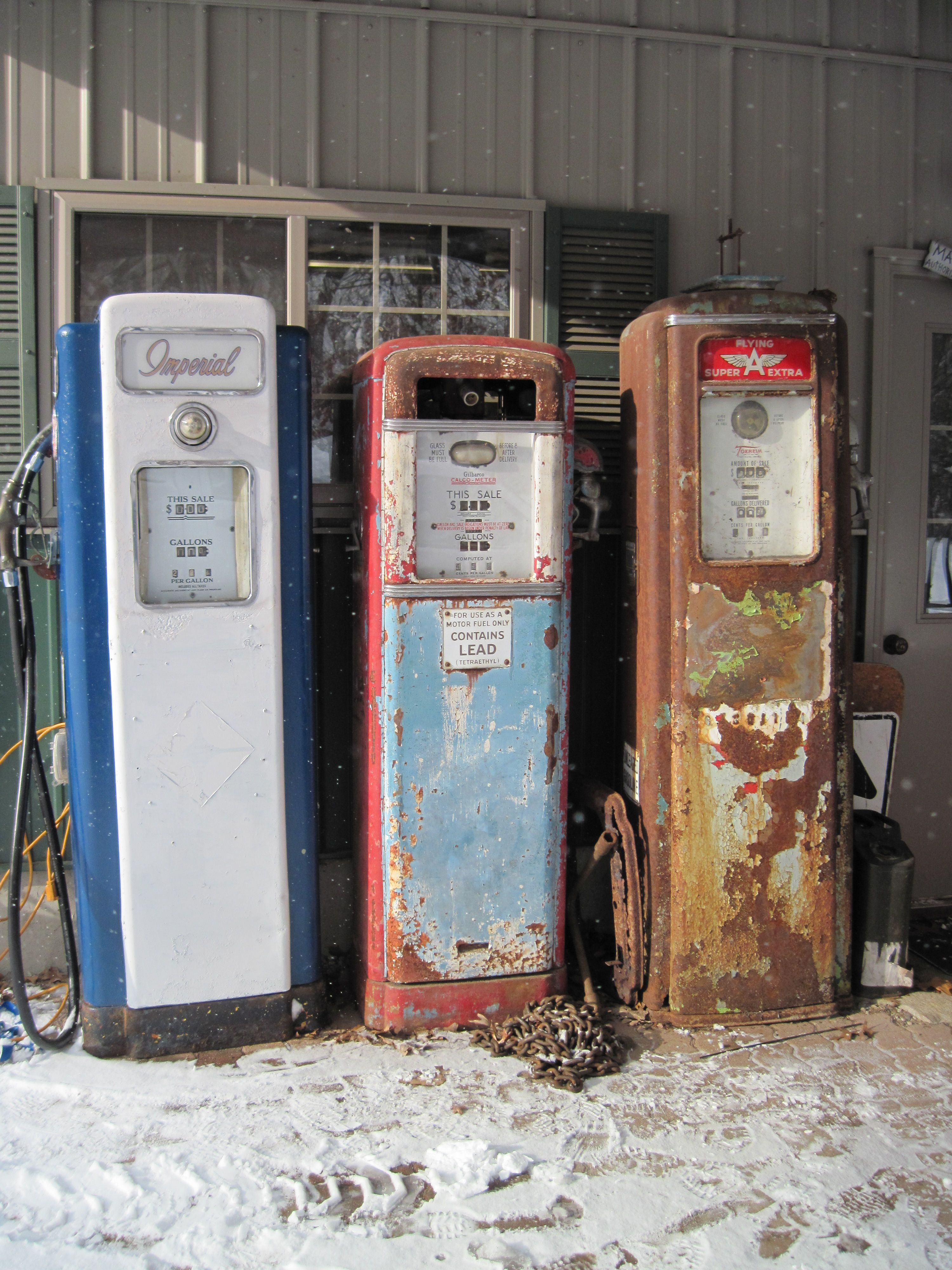 Wayne 70 Gilbarco 96 Tokheim 39 Tall | Gas pumps | Gas pumps