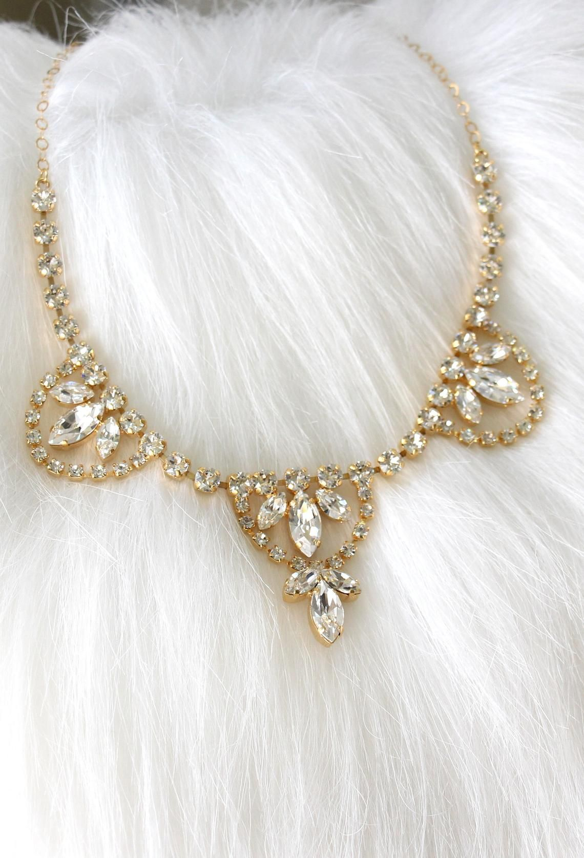 Choker Necklace Bridal Choker Necklace Swarovski Necklace  cc4ba124c