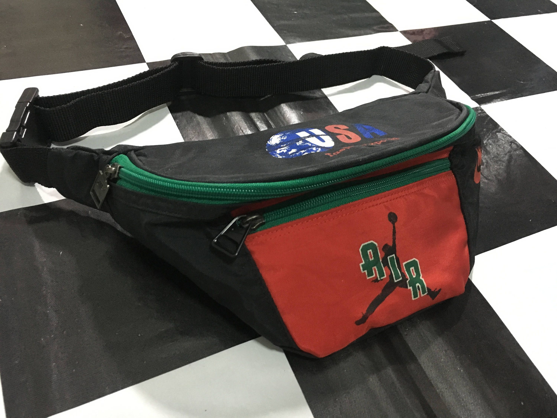a365c22ba833 Vintage Nike fanny pack multi color nylon waist bag Good condition 90s nike  air bag by AlivevintageShop on Etsy
