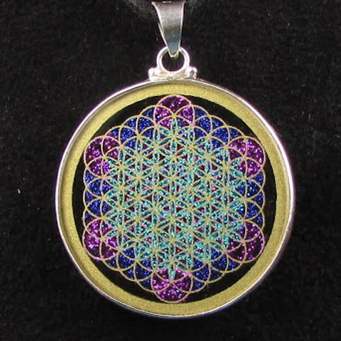Sacred-Geometry DESIGN Fruit of Life is 13 circles from the Flower - new molecular blueprint definition