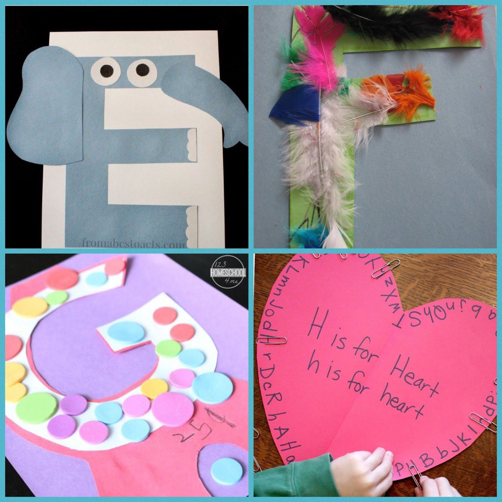 26 Alphabet Crafts El