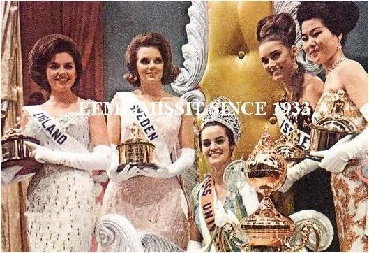 MISS UNIVERSE, 1964 Kiriaki Tsopei, Greece