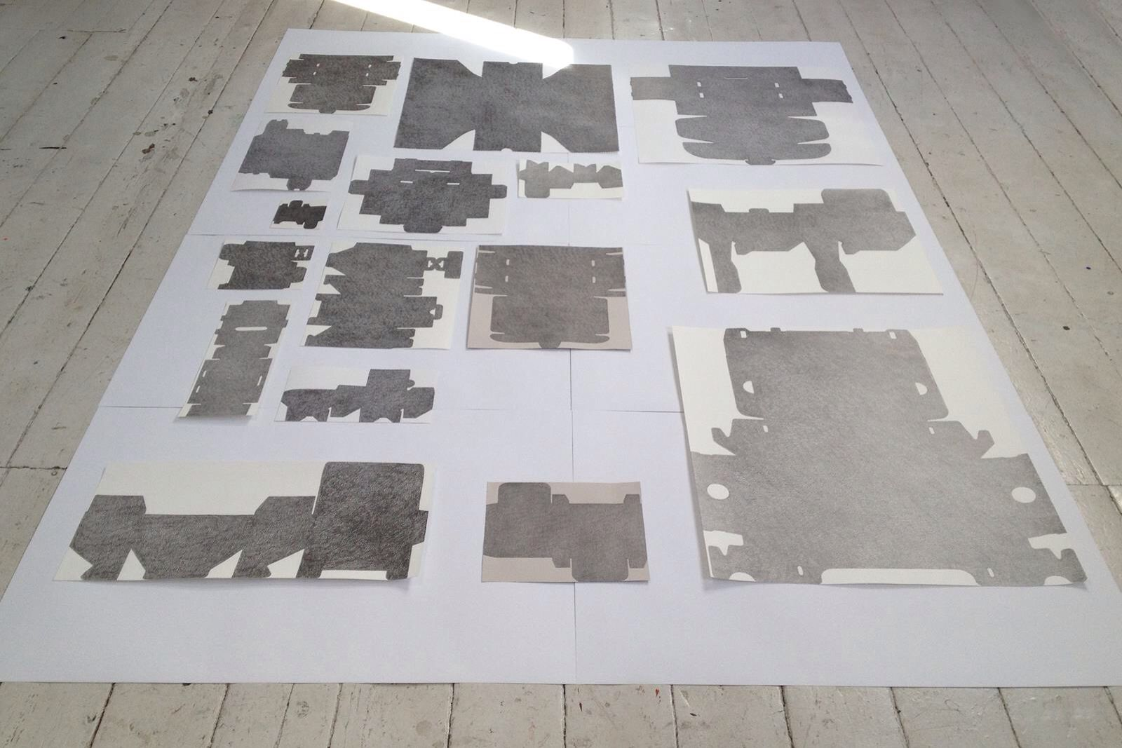 Britta Mahnecke Tegning - 2015
