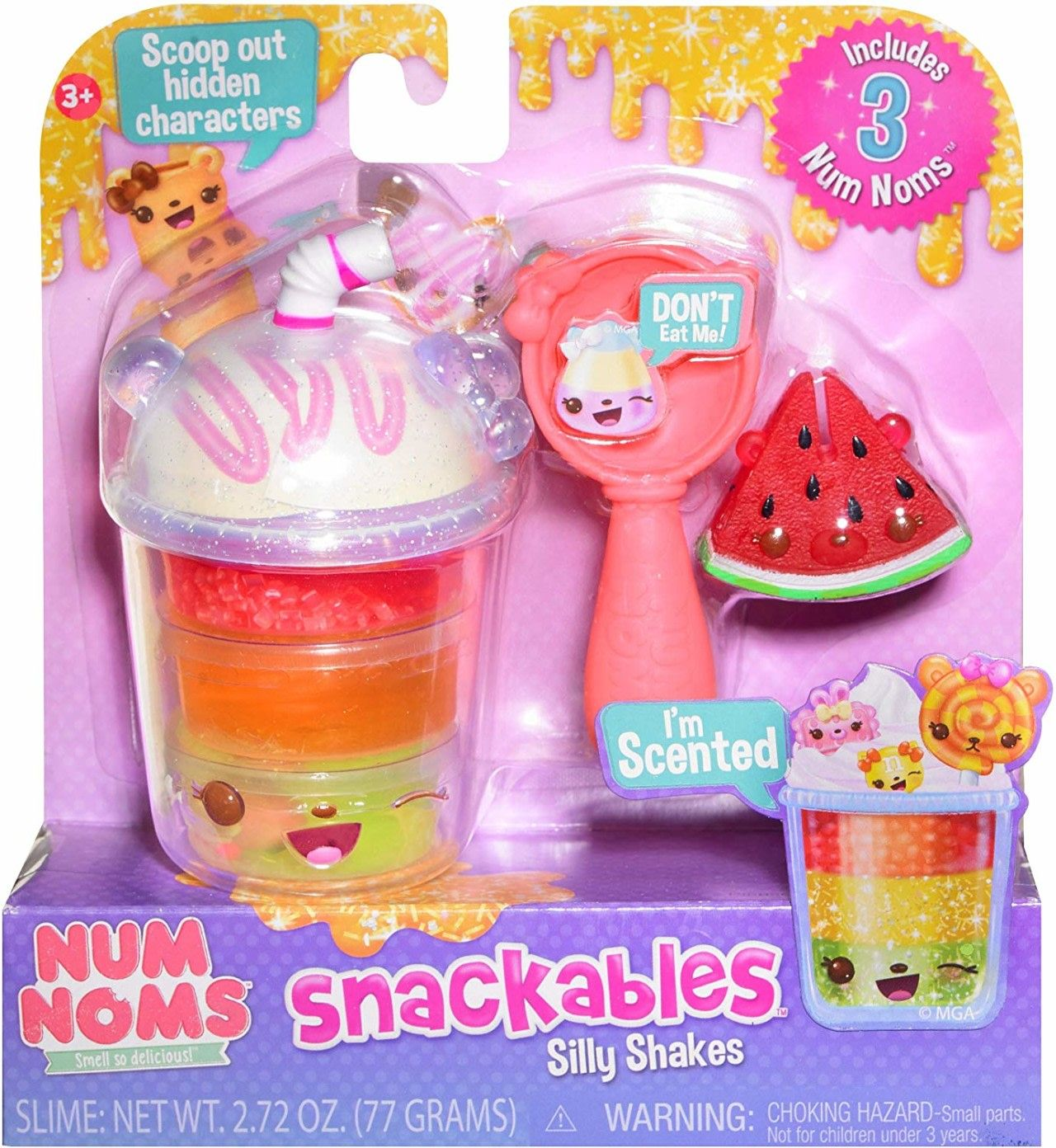 Num Noms Snackables Silly Shakes – Birthday Shake Collectible Only $4.97 (Reg. $10