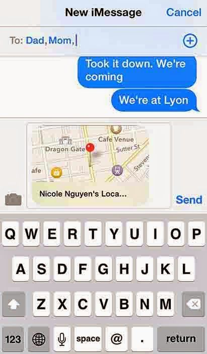 How to Send your Location in iMessage | iPhone | Iphone
