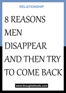 Guys then come back do why disappear and Why Do