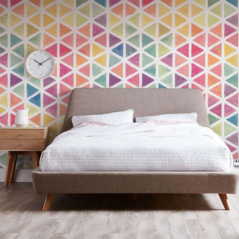 First Day Of My Life Papel Tapiz Colores Wallpaper Girls Room Decoracion De Paredes Dormitorio Decoracion De Paredes Pintadas Decoracion De La Habitacion