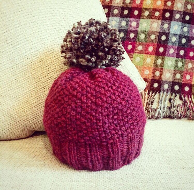 Rico Bobble Hats - Craft it like Katie | Baby boy knitting ...