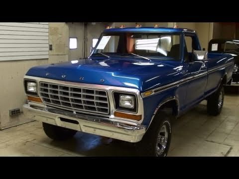 1979 Ford F150 4x4 Pickup 351 V8 Nicely Restored Classic 1979 Ford Truck 79 Ford Truck Ford Trucks