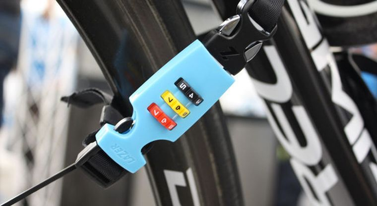 The Helmet Lock Lets Cyclists in a Hurry Quickly Secure Their Bikes #unique trendhunter.com
