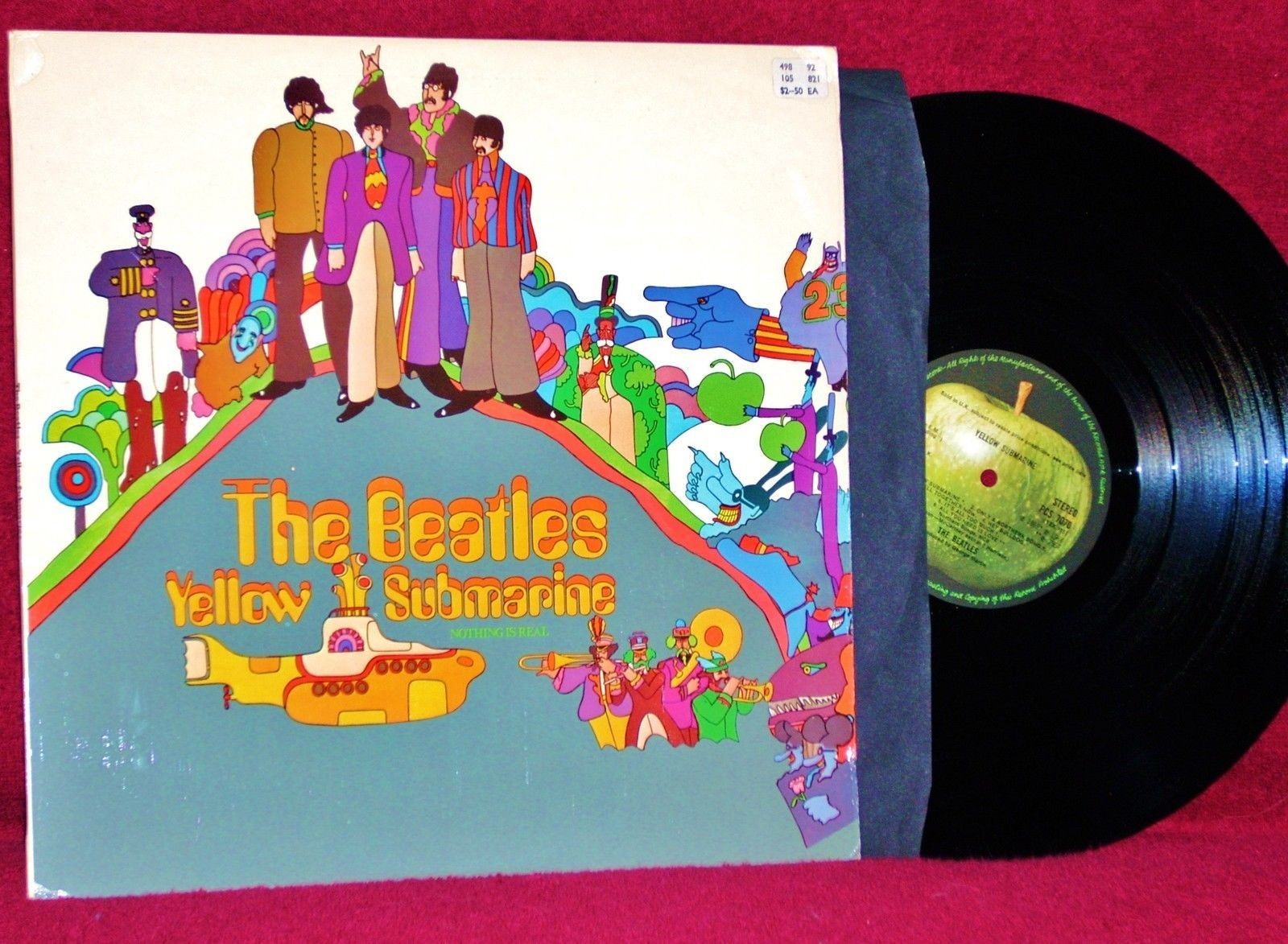 Ost Lp Yellow Submarine Beatles George Martin 1969 Uk Orig Press Nm Near Mint Ebay Beatles George Yellow Submarine George Martin