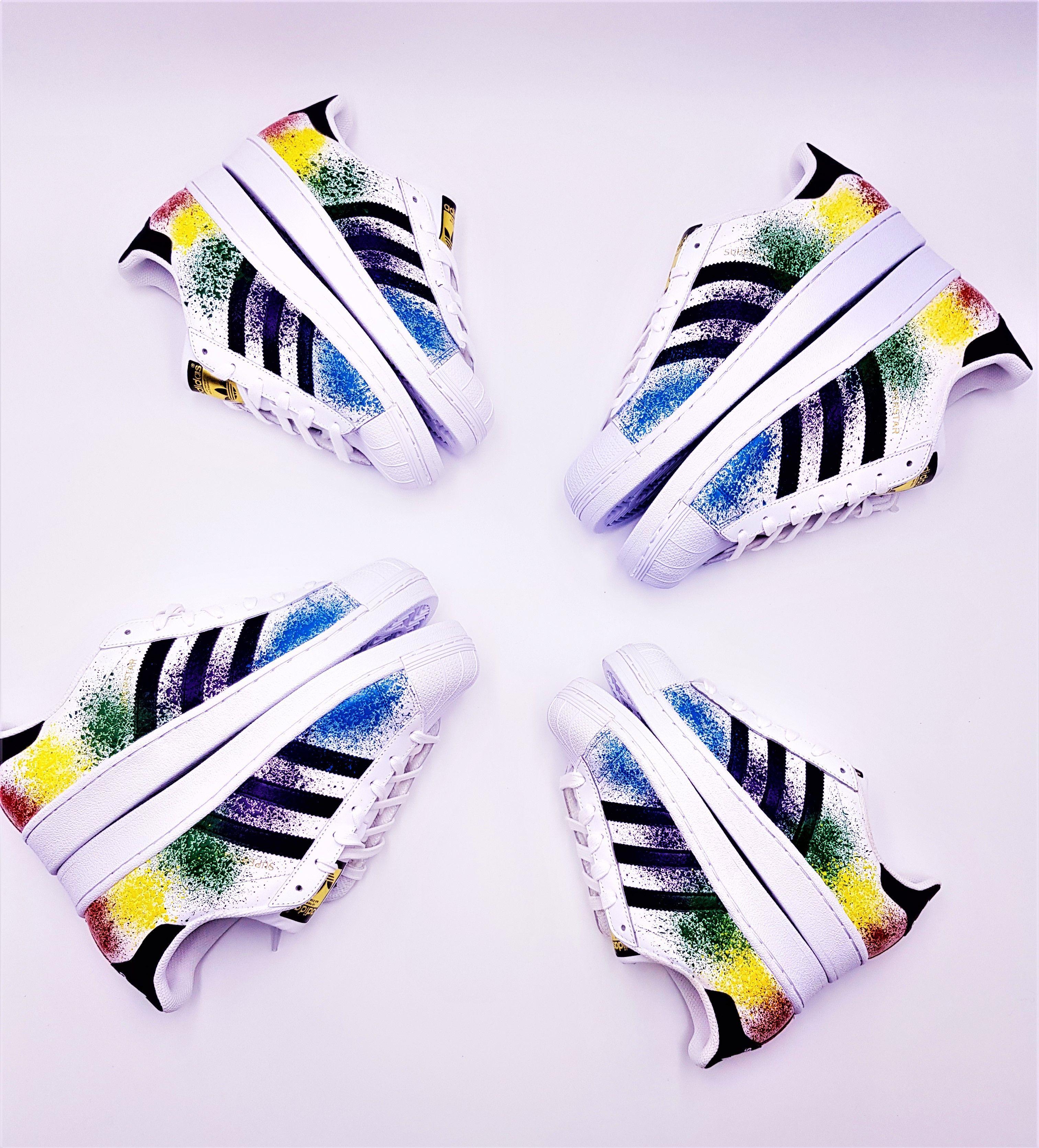 Adidas Color Splash Superstar | Modèle de chaussure