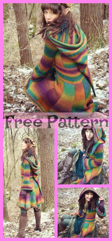 Photo of Crochet Elf Coat Free Pattern