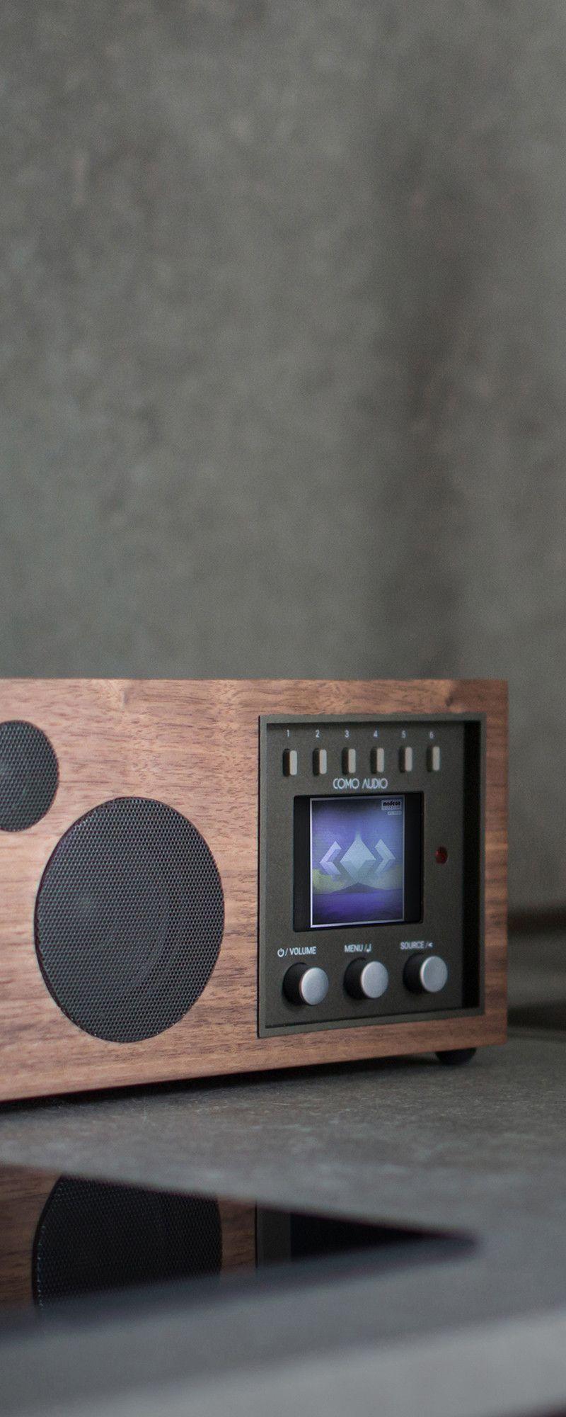 Groovy Como Audio Hifi Speakers Grommet Ideas Digital Radio Interior Design Ideas Clesiryabchikinfo