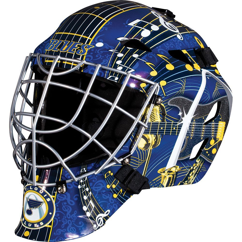 Franklin youth st louis blues gfm street hockey goalie face