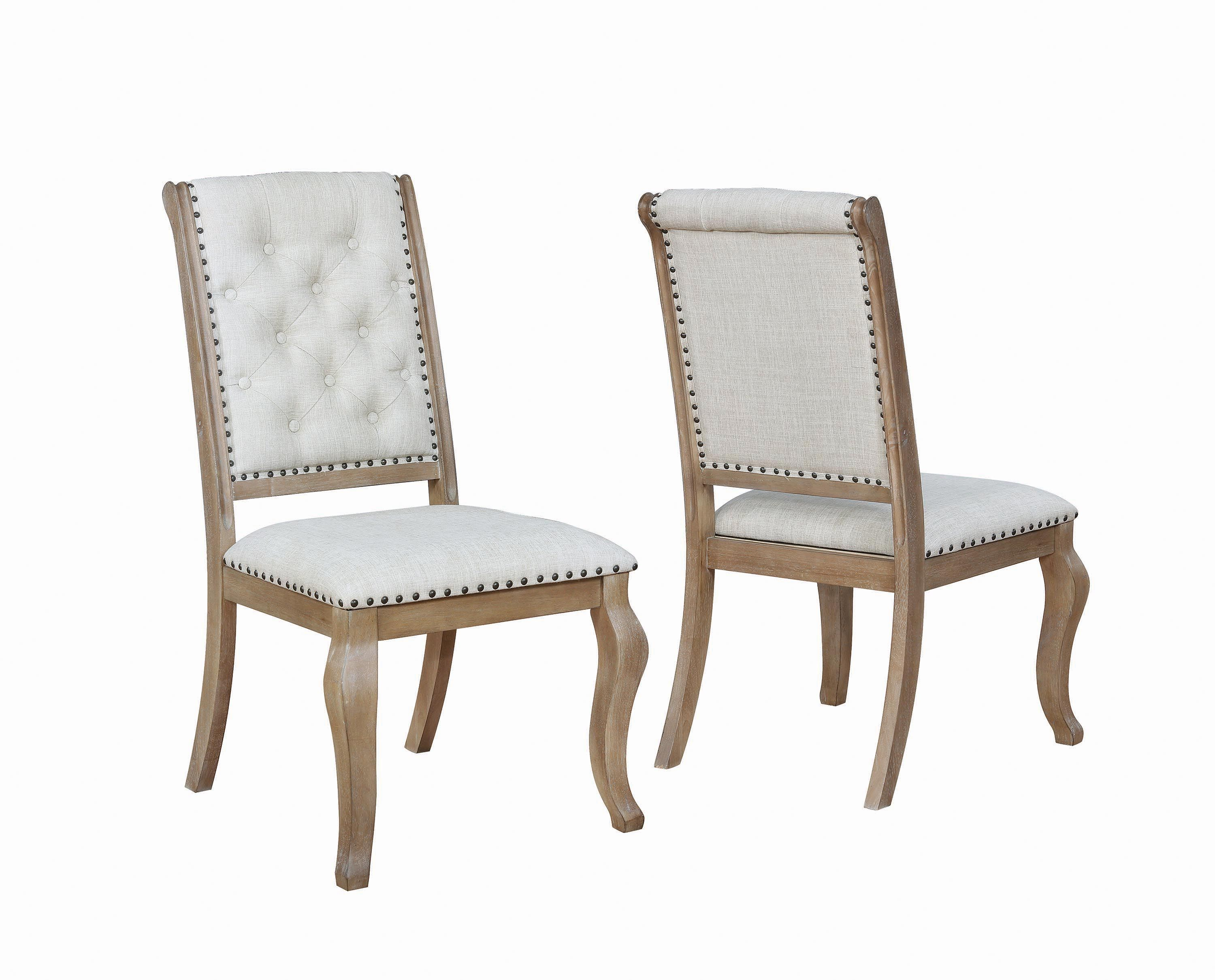 Scott Living Glen Cove Traditional Cream Dining Chair Coaster Fine Furniture