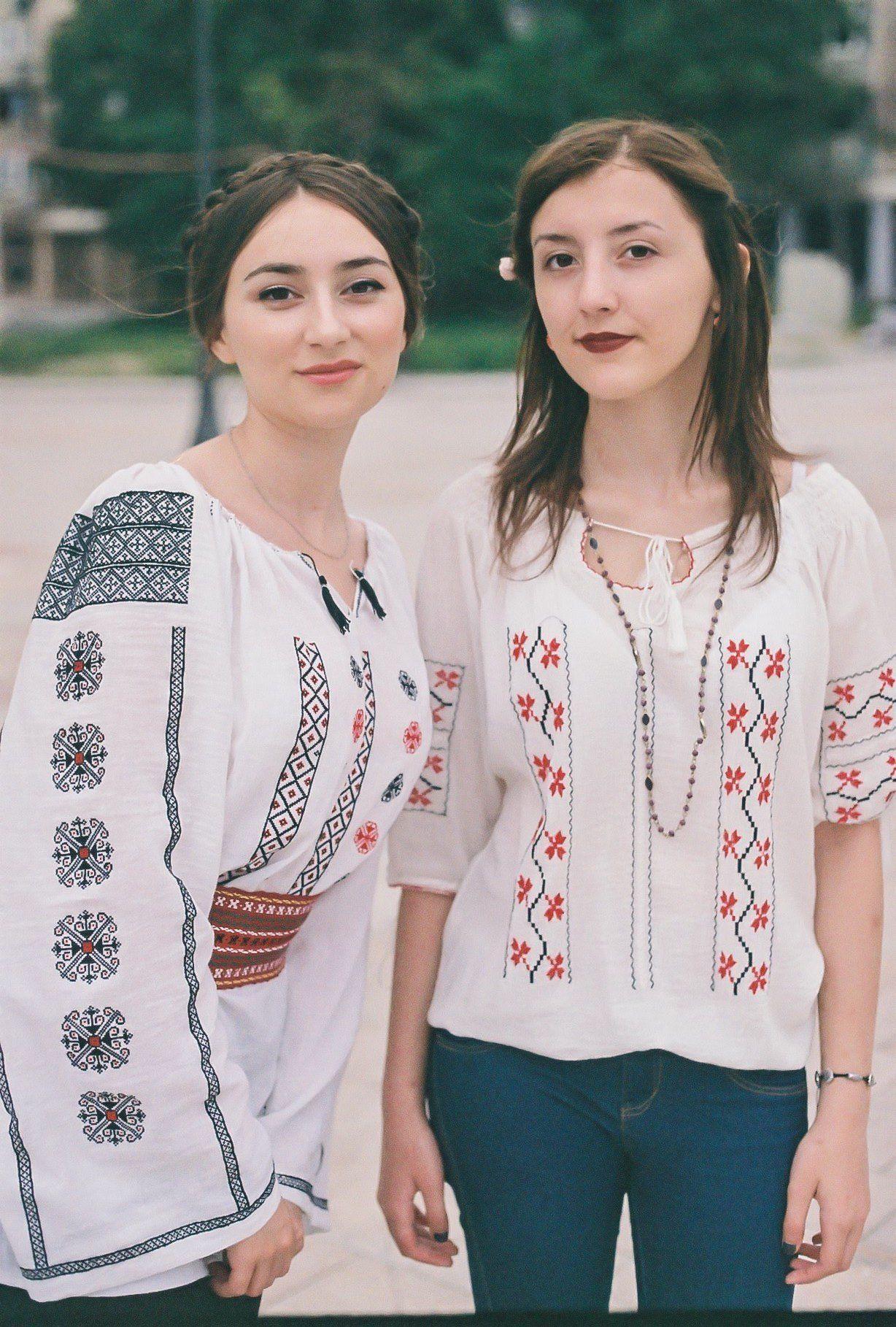 Los hermosos tejidos Rumanos