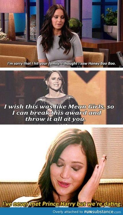 Oh Jennifer Lawrence XD